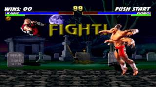 Kano vs Goro Double Flawless HD