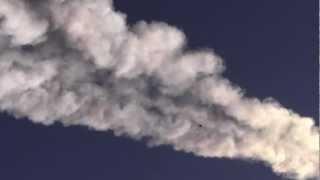 Взрыв болида над посёлком Красногорский