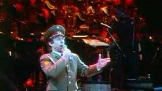 Red soviet army choir dar eyes