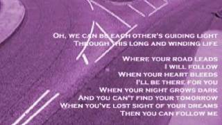 Sue James and Jim Kean - Where Your Road Leads ( + lyrics 1997)