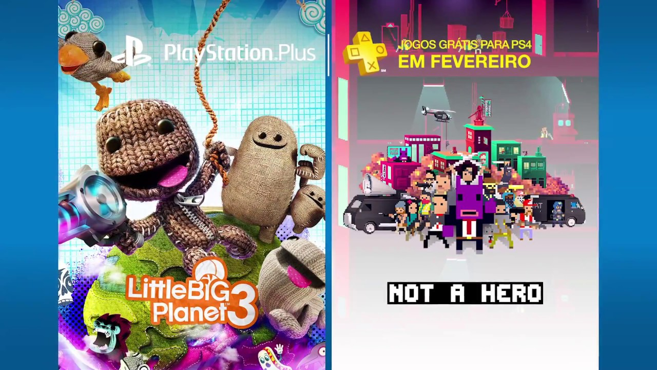 PS Plus: Jogos Gratuitos para Fevereiro de 2017