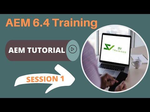 AEM 6.4 Online Training For Beginners   Adobe AEM Training Day 1 ...