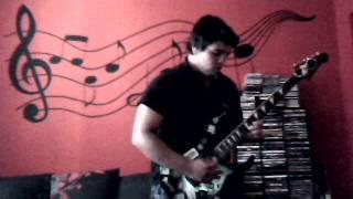 Video guitar cover the moldau (vltava)