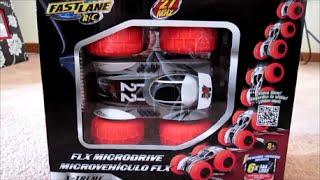 "Машинка перевертыш на р/у Fast Lane RC Stunt Series FLX Microdrive от компании Интернет-магазин ""Timatoma"" - видео"