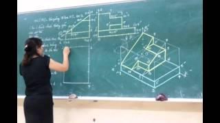 Video Bài giảng đồ họa kỹ thuật: Hình chiếu trục đo