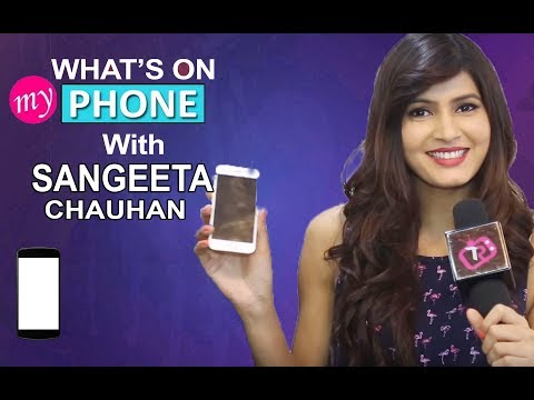What's On My Phone With Sangeeta Chauhan Aka Meghna From Piya Albela | Exclusive