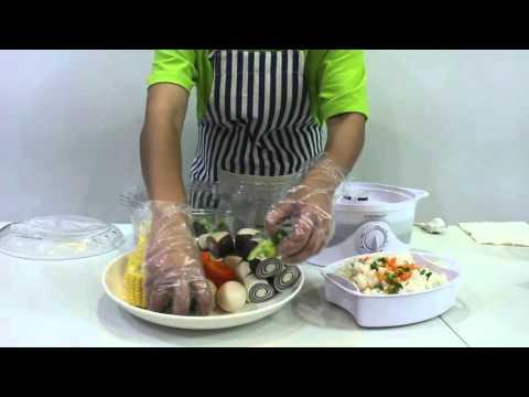 Cocina al vapor Aigostar 800W Blanca