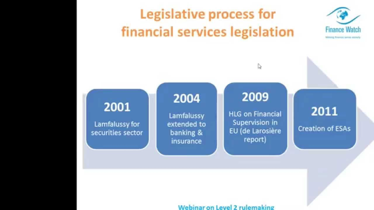 Finance Watch Level 2 rulemaking – webinar