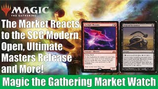 MTG Market Watch: The Market Reacts to Ultimate Masters, SCG Open, and More