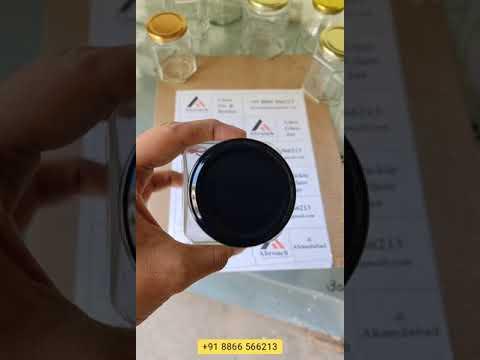 250 ml Square Glass Jar