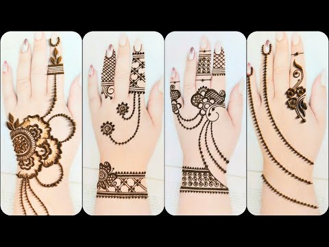simple mehndi design for beginners by kevai amit gohel