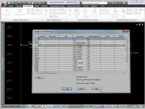 Using Circuit Builder in AutoCAD Electrical