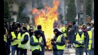 """Breaking """"France Is In Free Fall"""" Yellow Vest Protest"""