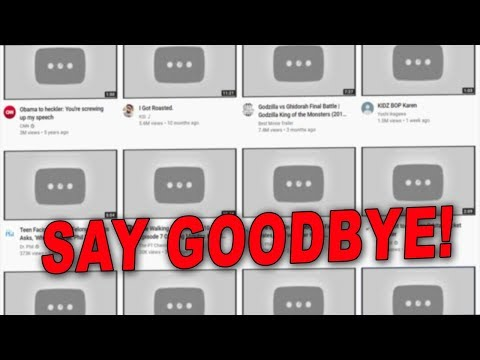"""YouTube Plans to Delete All Content that """"Doesn't Make Money"""" by Next Month"""