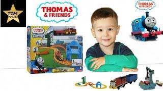 """Игровой набор Солти и Крэнки доставляют груз Thomas & Friends от компании Интернет-магазин """"Timatoma"""" - видео"""