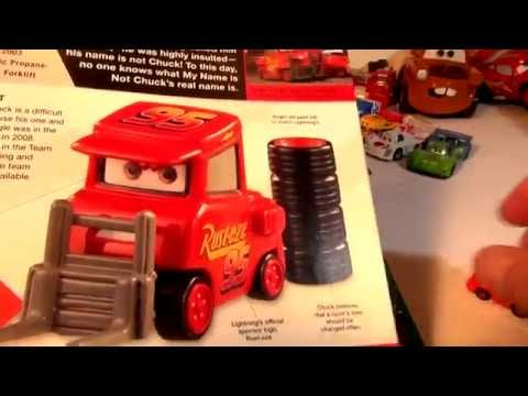 Pixar Cars Character Encyclopedia  MY NAME IS NOT CHUCK With Lightning McQueen Part 11