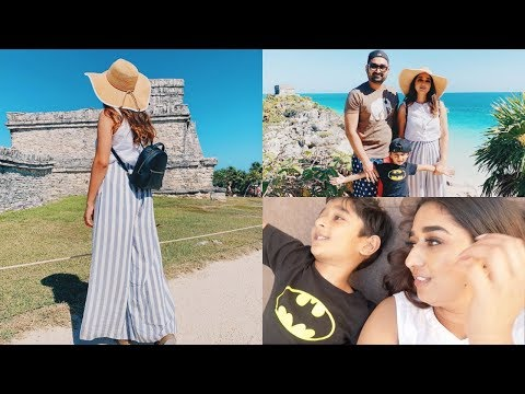 Most Beautiful Hotel Holistika Tulum Cancun Mexico Mayan Ruins || Indian Mom Vlogger