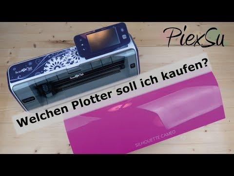 Welchen Plotter kaufen? Silhouette Cameo 3 oder Brother CM900? | PiexSu