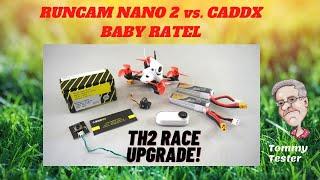 Runcam Nano 2 vs. Caddx Baby Ratel | Emax Tinyhawk II RACE | Minnesota FPV