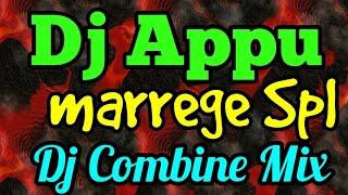 Marrege Spl  Dj Appu Combine Hindi  Mix 2018 Full Bass