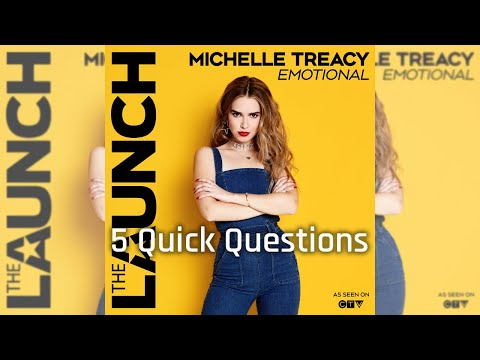 5 Quick Questions With Michelle Treacy (CTV's The Launch)