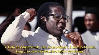 15 Famous Robert Mugabe Quotes