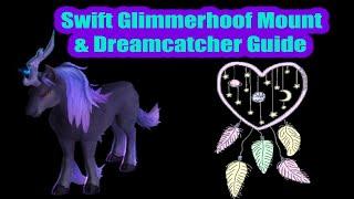 How to Get the Dreamcatcher & Swift Gloomhoof Mount  (Night Mare) - World of Wacraft