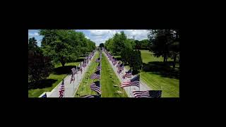 Tom Flynn & Avenue of 444 Flags