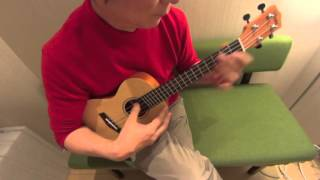 When I'm Sixty Four - The Beatles cover on ukulele solo