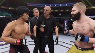 Bruce Lee vs. PewDiePie (EA Sports UFC 3) - CPU vs. CPU