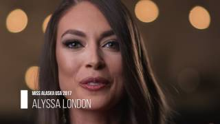 Miss Alaska USA 2017 Alyssa London Introduction