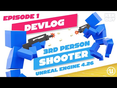 Introduction to Coinbattle! Multiplayer Third-person shooter   Unreal Engine 4   Devlog 1   Indie