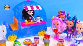 Igloo Ice Cream Car with Shopkins Season 10 Surprise Blind Bags