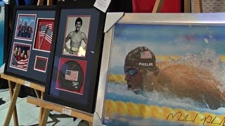 Michael Phelps in Bakersfield for Voices of  Inspiration Fundraiser