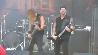 DARK ANGEL - Death Is Certain (Life Is Not), 8.8.2014, live @ Jalometalli, Oulu, Finland