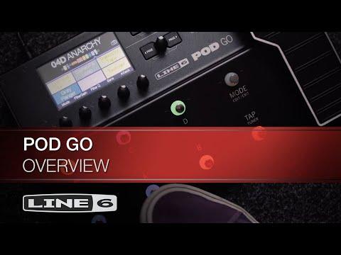 ה-POD Go  - מעבד גיטרה קל משקל מ-Line 6