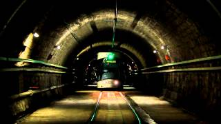preview picture of video 'Tramway de Marseille: tunnel Noailles (2012)'