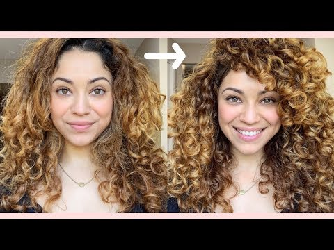 Trying Wella's New Curl Line! | NutriCurls