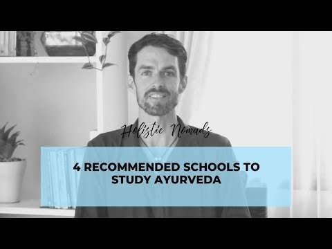 4 Recommended Schools to Study and Get Certification in Ayurveda ...