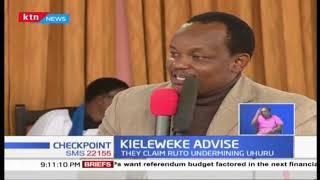 'Kieleweke' leaders accuse Ruto of undermining Uhuru