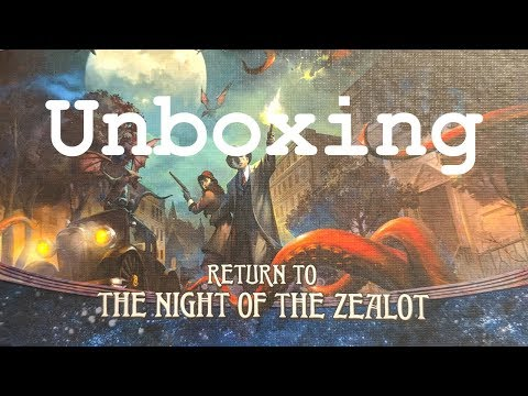 Arkham Horror Return To The Night Of The Zealot - Unboxing