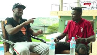 Kwaku Manu Aggressive Interview With ASAMOAH GYAN ⚽⚽ (GHANA BLACKSTARS  CAPTAIN )