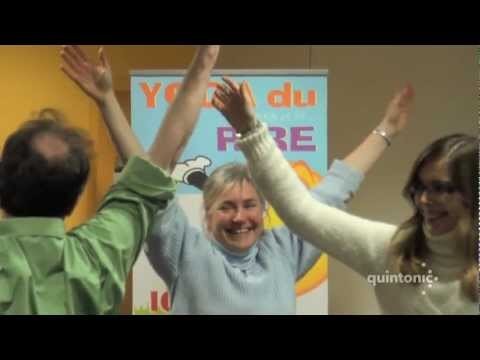 Séance de Yoga du rire par Quintonic