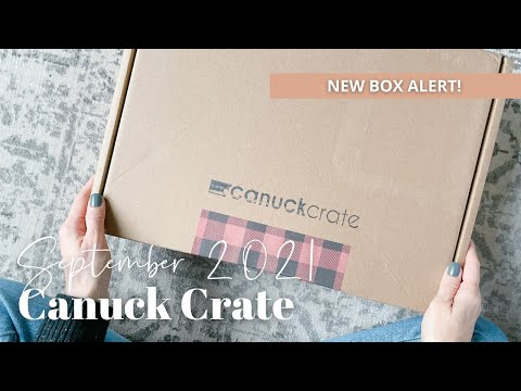 Canuck Crate Unboxing September 2021