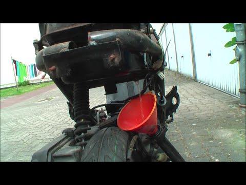Der Ersatz des Brennstofffilters in pescho 307 1.6 Benzin