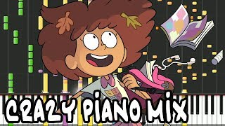 Crazy Piano Mix! AMPHIBIA THEME
