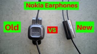 Nokia Earphones...Old vs New!!!!Which One Is Better?????