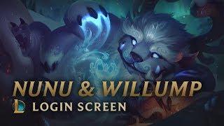 Nunu & Willump, the Boy and his Yeti   Login Screen - League of Legends