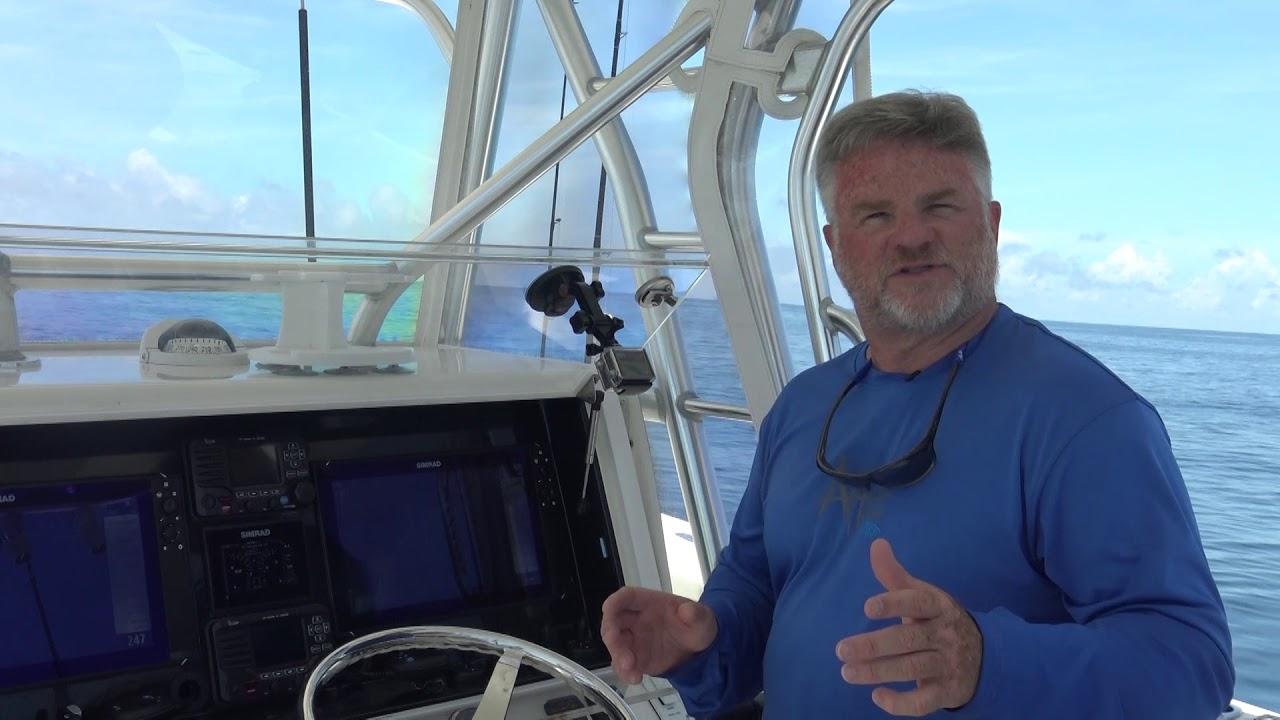 SiriusXM Marine Weather Demonstration - Liquid Fire Fishing Team.