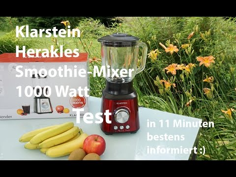 Klarstein Herakles Smoothie Mixer   Test